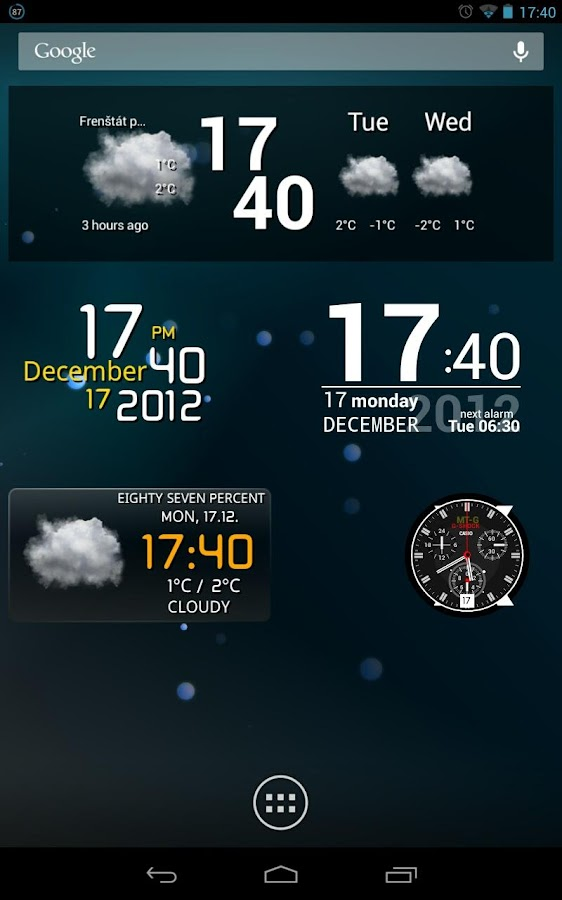Make Your Clock Widget HD Pro - screenshot