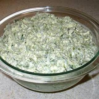 Creamy Spinach Dip.