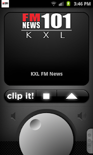 KXL FM News - screenshot thumbnail