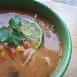 Slow Cooker Tortilla Chicken Soup Recipe