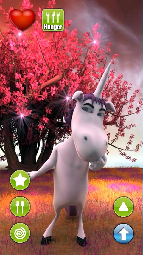 Talking Emily Unicorn - screenshot