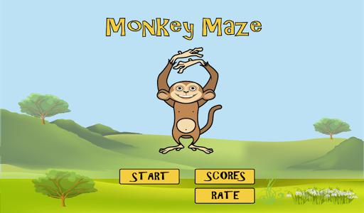 【免費冒險App】Monkey Maze FREE-APP點子