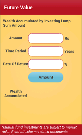 Wealth Manager- screenshot