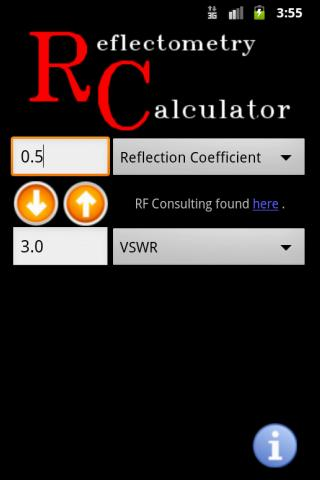 Reflectometry Calculator- screenshot