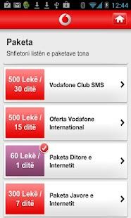 My Vodafone (AL) - screenshot thumbnail