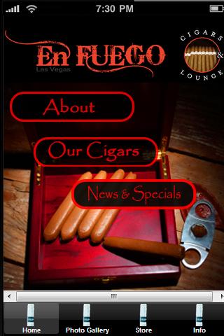 Cigar En Fuego