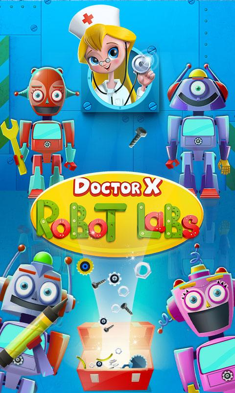 Doctor X: Robot Labs- screenshot
