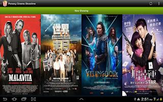 Screenshot of Johor Movie Showtime