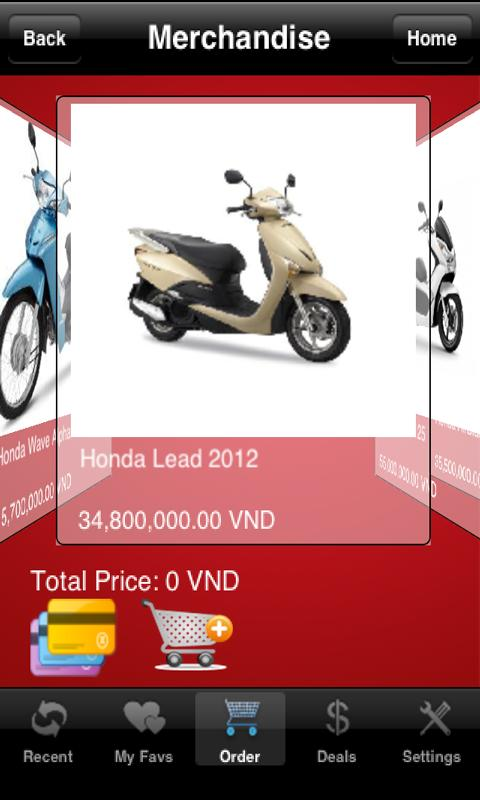 Honda VN - screenshot