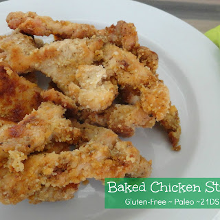 BAKED CHICKEN STRIPS Recipe
