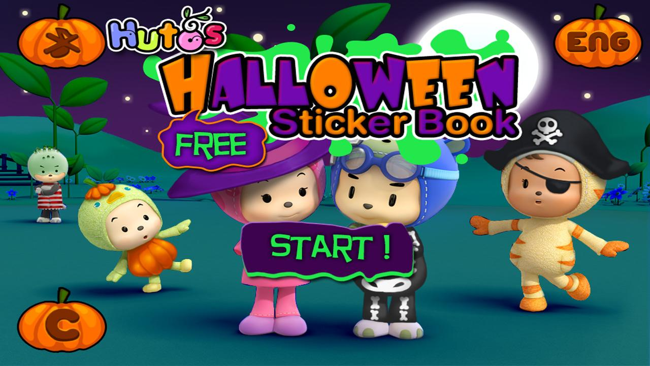 Halloween Sticker Book Lite - screenshot