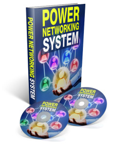 Power Networking System logo with 2CDs