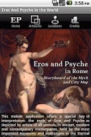 Screenshot of Eros and Psyche in the world