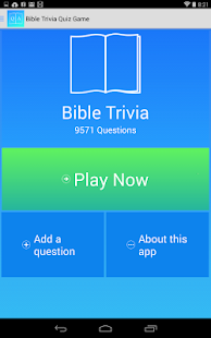 Free Bible Trivia Game - screenshot thumbnail