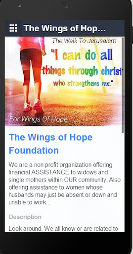 The Wings of Hope Foundation