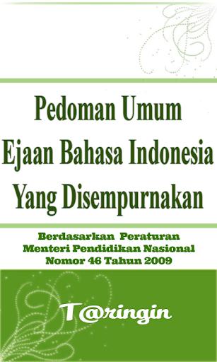 Pedoman Umum EYD