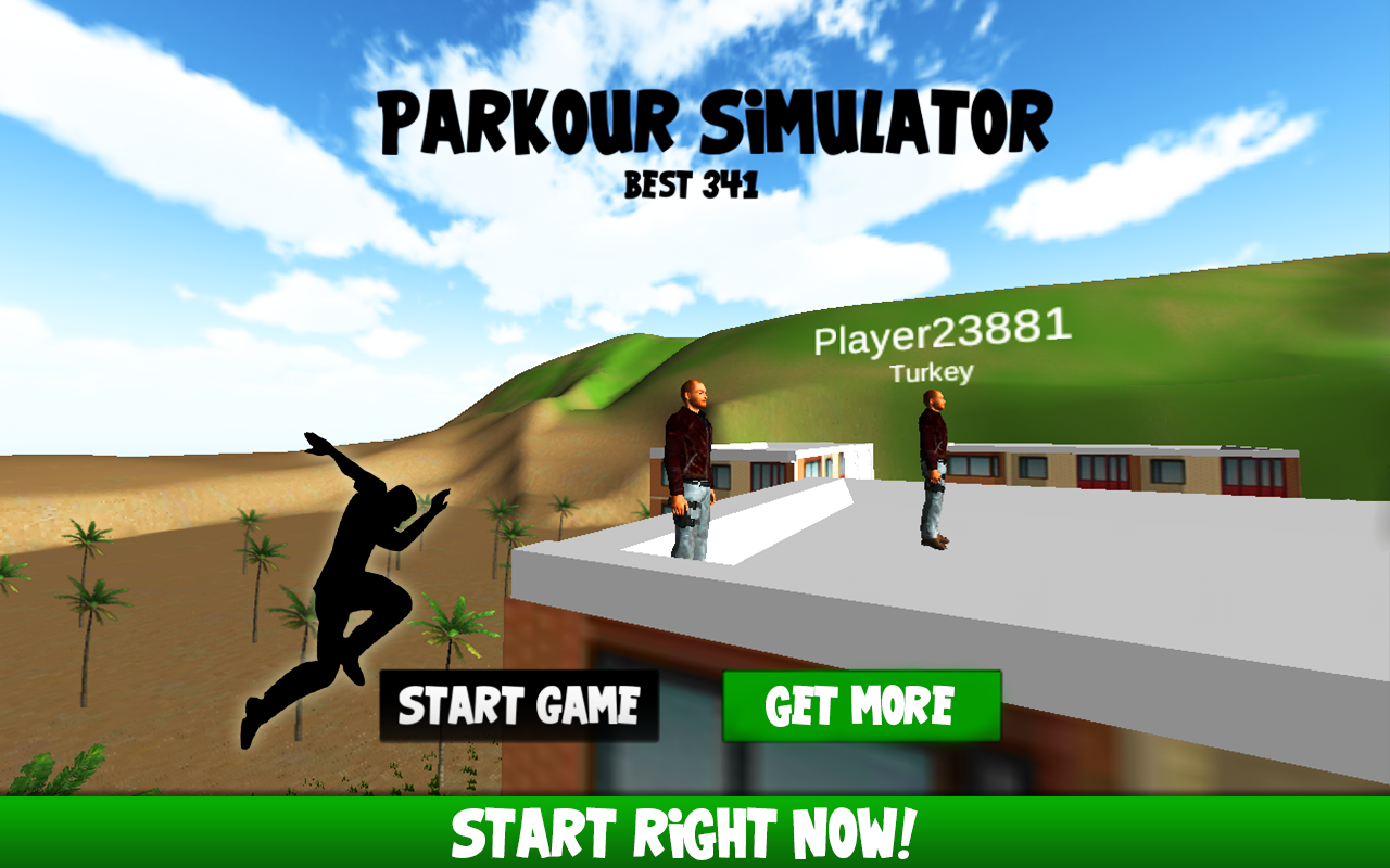 ���� Parkour Simulator 3D 2015 v1.01 ������� ���������