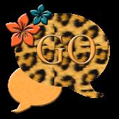 GO SMS THEME/OrangeLeopard4U
