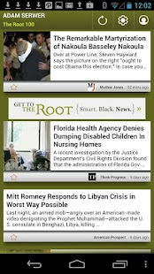 Adam Serwer: The Root 100 - screenshot thumbnail