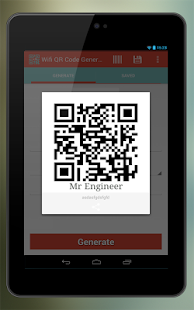 Wifi QR Code Generator- screenshot thumbnail