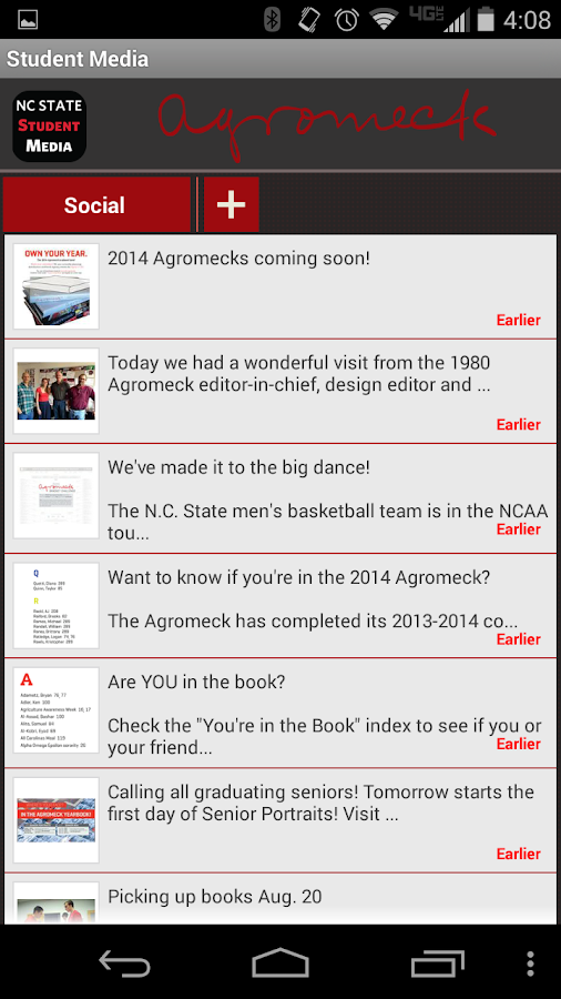 NCSU Student Media - screenshot