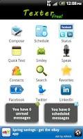 Screenshot of Texter