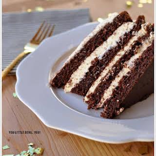 Devilish Birthday Cake.