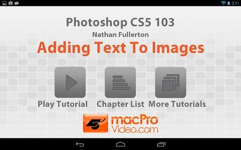Photoshop CS5 103