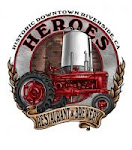 Logo for Heroes Restaurant and Brewery