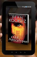 Screenshot of Dean Koontz AR Viewer