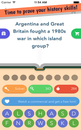 History Quiz 1.0.1 screenshot 1767644