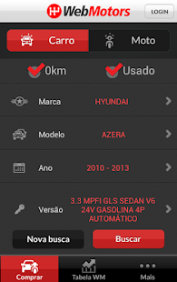 WebMotors - screenshot thumbnail