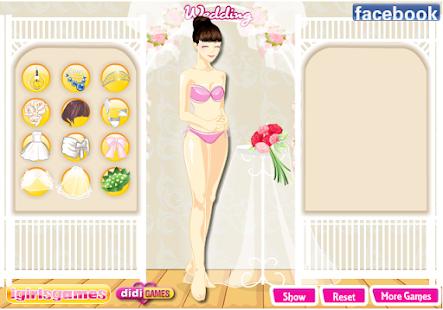 เกมส์แต่งตัวเจ้าสาวหรรษา - screenshot thumbnail