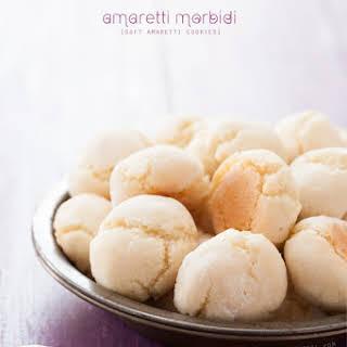 Amaretti Morbidi (Soft Amaretti Cookies).