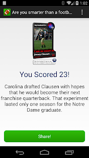 Football Wonderlic Test- screenshot thumbnail