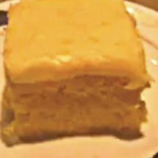 3 ingredient Creamsicle Cake