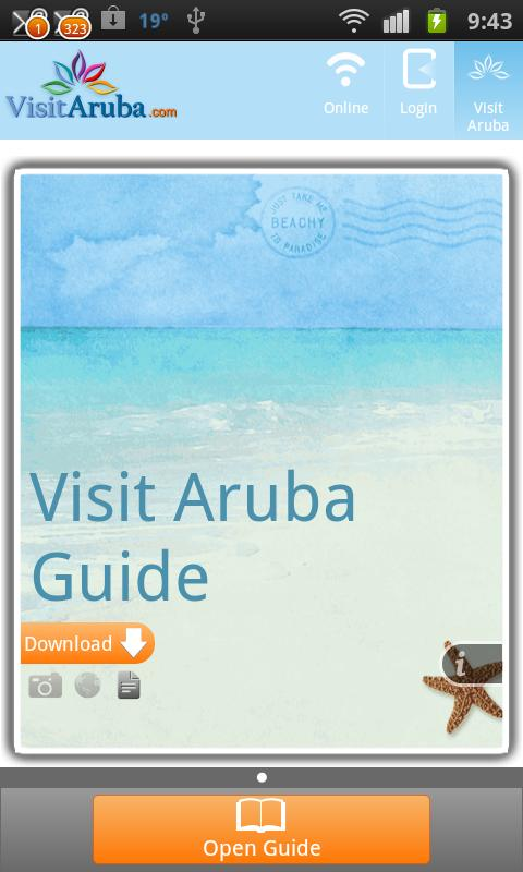 Visit Aruba Guide- screenshot
