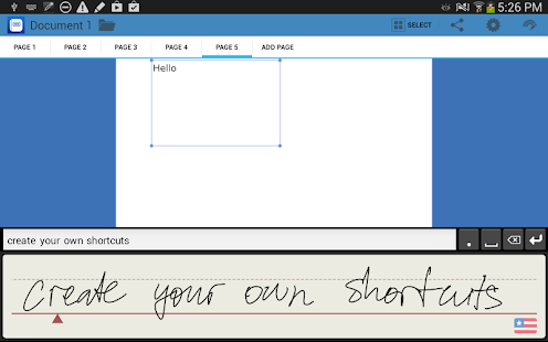 WritePad - screenshot thumbnail