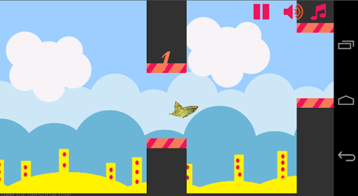 Flap Butterfly Game