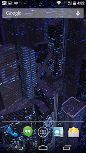 3D LiveWallpaper Dark City Pro v2.0