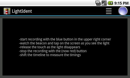 LightIdent-Beacon recognition