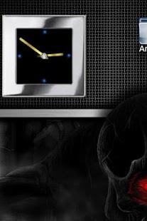 玩免費個人化APP|下載Metal Look Clock widget app不用錢|硬是要APP