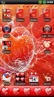 Valentine´s GO Launcher Theme- screenshot thumbnail