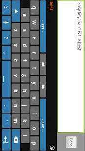 Easy Keyboard Custom IME FREE - screenshot thumbnail