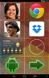 BIG Launcher Easy Phone DEMO Screenshot