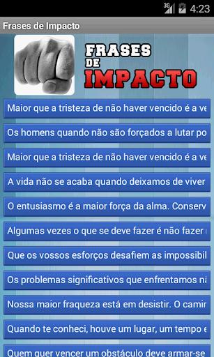 Frases de Impacto