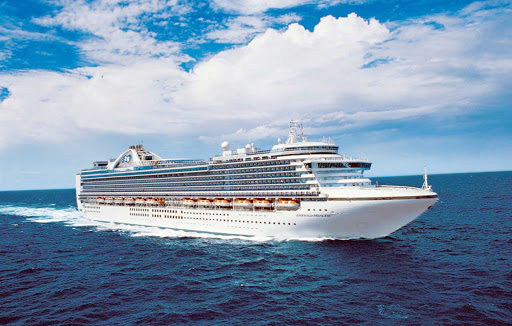 Emerald-Princess-at-sea - Emerald Princess is one of the largest ships in the Princess fleet, offering nearly 900 balcony staterooms for guests to take in the passing scenery.