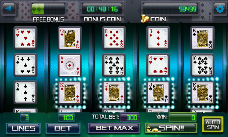 Easy no-download video poker! Jacks or Better, Bonus, Double Double, Deuces, Joker Poker, total of 1