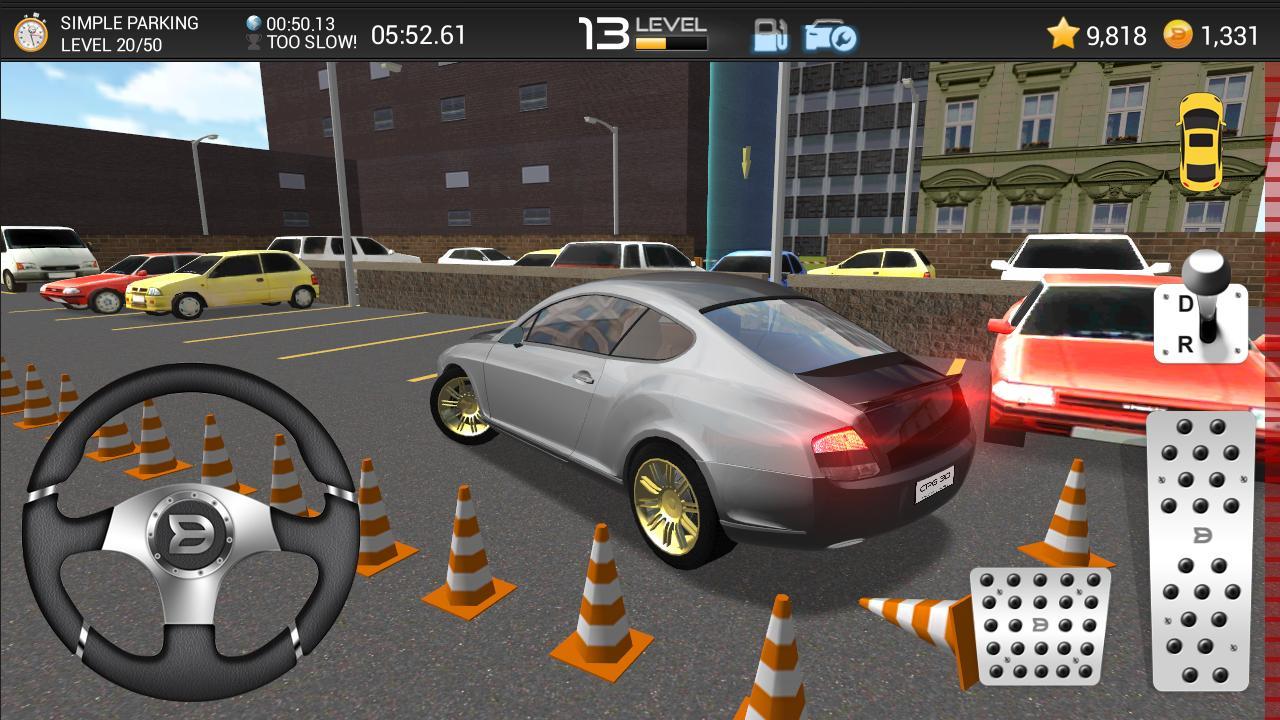 3d car game: