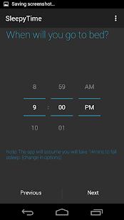 SleepyTime: Bedtime Calculator - screenshot thumbnail